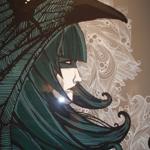 Kraken silkscreen print on paper