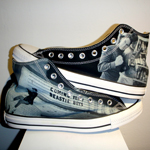 How cool would it be to have shoes with your very own photos on them?