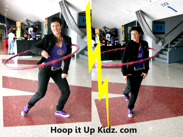 Kelly the hooping fairy