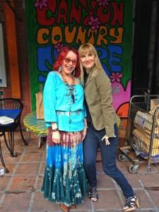 The Author and Miss Pamela (Photo courtesy of Nikki Kreuzer)