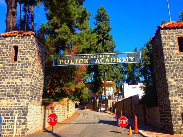 The Police Academy Gates (Photo by Nikki Kreuzer)