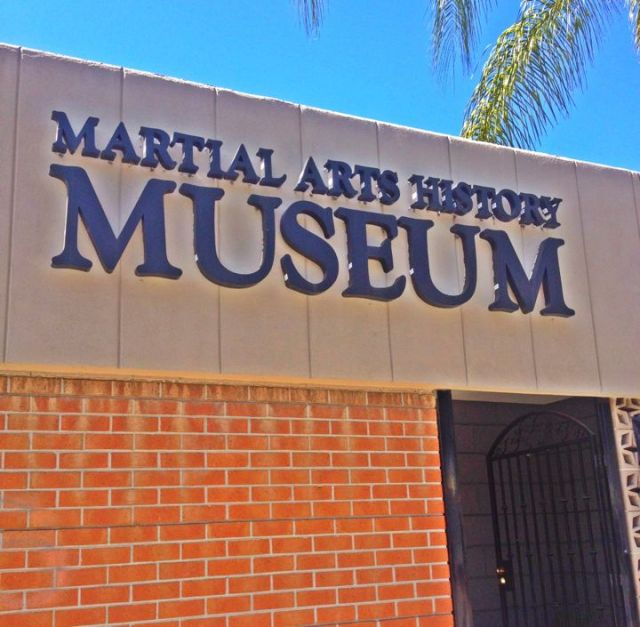 The Martial Arts History Museum (Photo by Nikki Kreuzer)