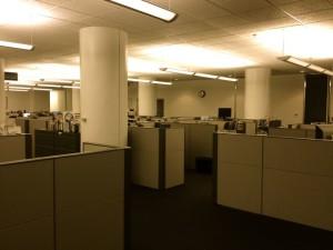 The L.A. Times Editorial Newsroom (photo by Nikki Kreuzer)