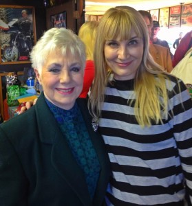 The author and Shirley Jones (photo by Thomas Kreuzer)