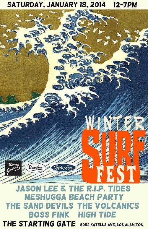 Winter Surf Fest Jan. 18, 2014