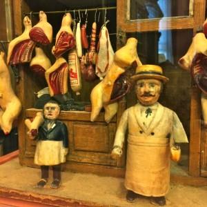 Butcher Shop, England, about 1840 (photo by Nikki Kreuzer)
