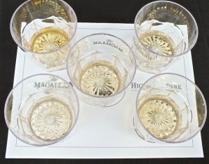 Fine Scotches from the MacCallan and Highland Park will be featured with each course of the dinner