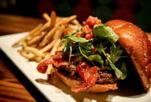 The Fig marmalade burger at Eureka! is a tasty take on a hamburger with flavors that pair well