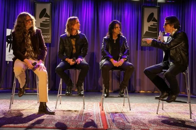 Alice Cooper, Scot McFadyen, Sam Dunn and Scott Goldman
