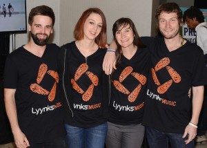 Lyynks Crew: David, Elyse, Julianna and Dylan.