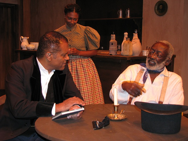 """Ted Lange in """"Let Freedom Ring"""" with Garrett Morris--Photo Courtesy of Ted Lange's Personal Collection"""