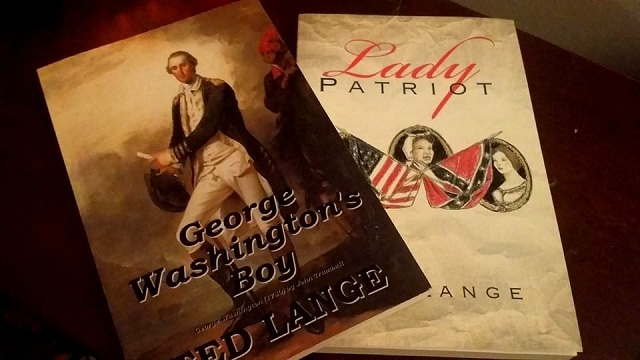George Washington's Boy and Lady Patriot by Ted Lange--Photo by Jennifer K. Hugus for The Los Angeles Beat