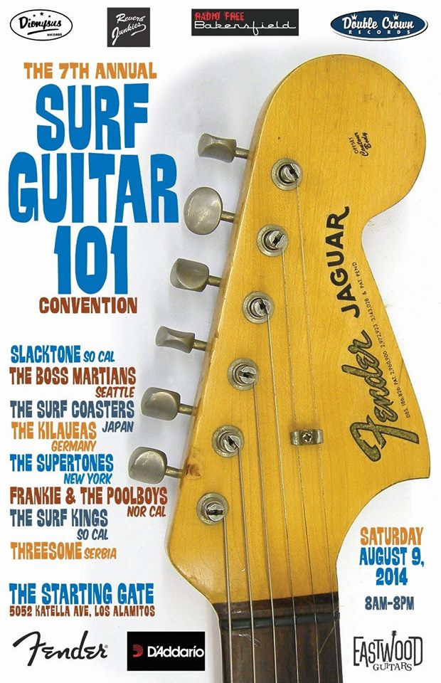 Surf Guitar 101 at the Starting Gate