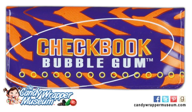 Bubble Gum Checkbook
