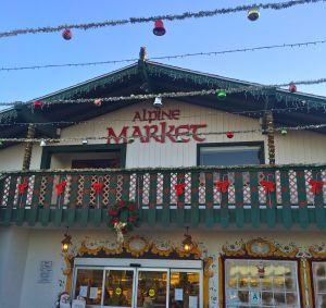 The Alpine Market specializes in German food products (photo by Nikki kreuzer)