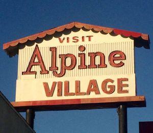 Alpine Village (photo by Nikki Kreuzer)