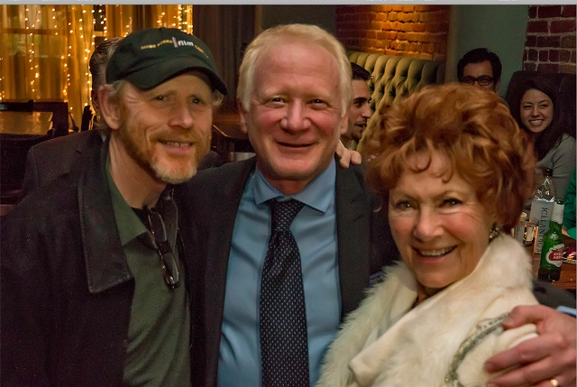 Donny Most with Audience Members and Former Co-Stars Ron Howard and Marion Ross at Rockwell Table and Stage on December 30, 2014, Photo Courtesy of Steve Neimand