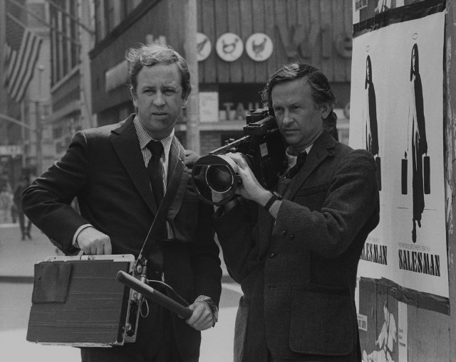 David and Al Maysles. Photographer unknown.