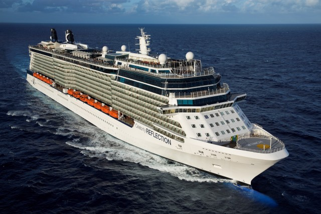 RF-Aerial474F. Photo courtesy of Celebrity Cruises.