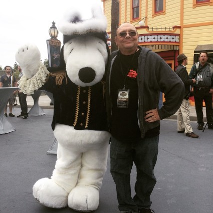 Dukey and snoopy at iron reef