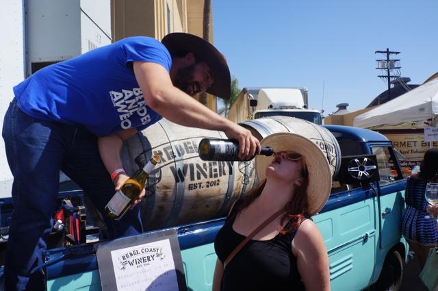 LA Wine Fest 9 Rebel Coast Wines