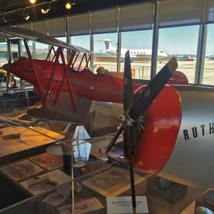 Aviation history with a window to LAX air strips (photo by Nikki Kreuzer)