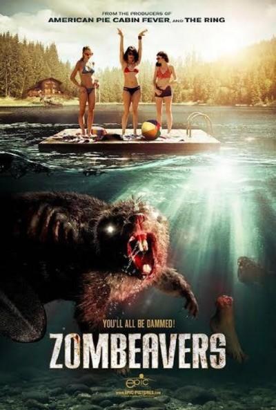 zombeaver poster