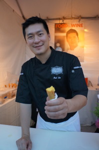 Chef Paul Lee's Dungeness Crab Cone