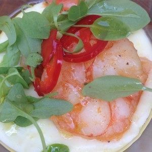 The Front Yard's Shrimp and Grits