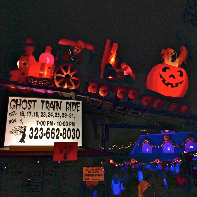 The Ghost Train at Griffith Park (photo by Nikki Kreuzer)