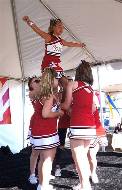 World Games cheerleaders
