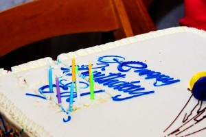 30 Ed Asner's birthday cake