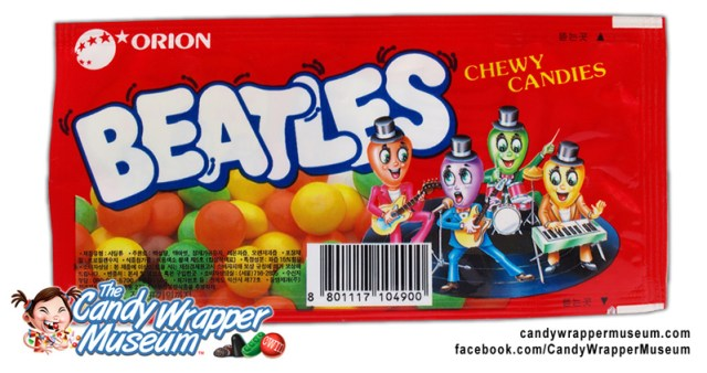 Korean Beatles Candy