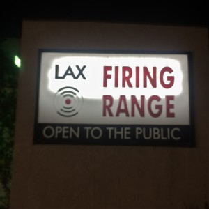 LAX Firing Range, opened for business in 1995 (photo by Nikki Kreuzer)