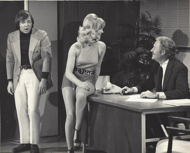 """Frank Welker on """"Laugh In""""; Photo Courtesy of BHBPR"""