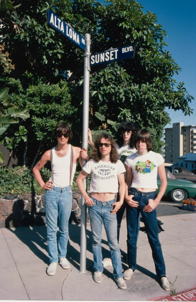 The Ramones, 1978  ©Brad Elterman