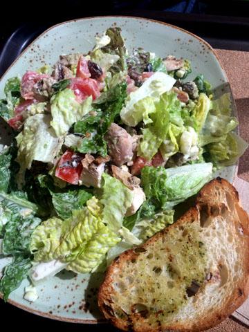 """Grilled Chicken Cobb """"Big Salad"""""""