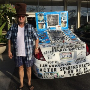 Dennis Woodruff today with his current car (photo by Nikki kreuzer)