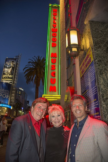 (L-R) Daytime Emmys Exec Producer David Michaels, Dee Wallace, Kevin Spirtas; Photo Courtesy of Bill Dow