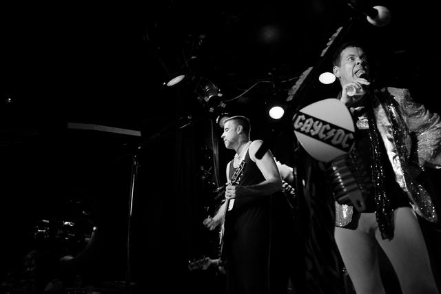 Queer Rock Explsion headliners GayC/DC