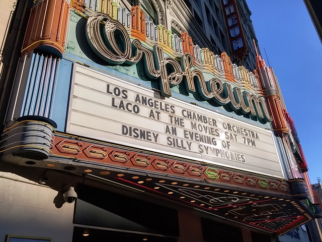 The LACO gets top billing for their Silly Symphonies show at the Orpheum.