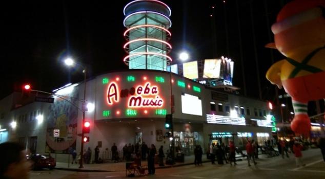 Amoeba Music.