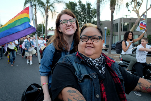 Queer La Shout It Out At The West Hollywood Dyke March