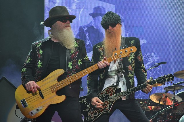Dusty Hill and Rev. Billy Gibbons of ZZ Top