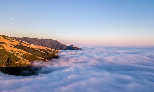 Above the Big Sur Clouds