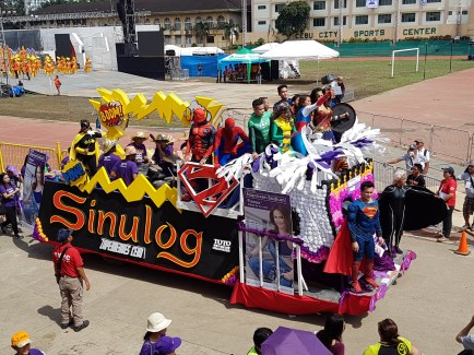 Apart from the dance performances, you will also get to see these colourful and funky floats, often sponsored by some companies.