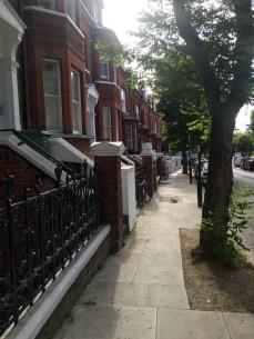 Our London neighborhood