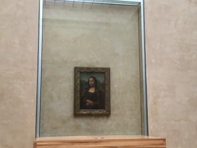 Mona Lisa at 9:17am