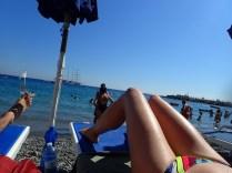 Spurged on beach chairs