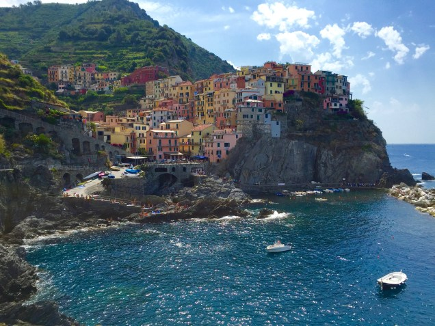 Manarola, one of the five fishing villages